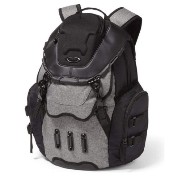 Oakley Kitchen Sink Lx Grigio Scuro Backpack Nwt